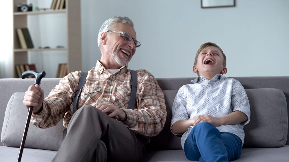 Laughter Really IS The Best Medicine!